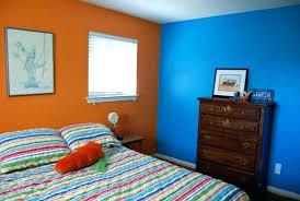 orange bedroom furniture. Orange Bedroom Walls Blue And Wall Color For  Trends Including . Furniture