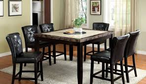 black table britney top room looking good round white chairs set marble small and dining rooms