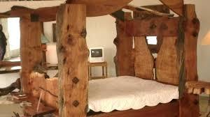 Unfinished Bed Posts Beds Wooden Wood Turned Bedroom – waldobalart.com