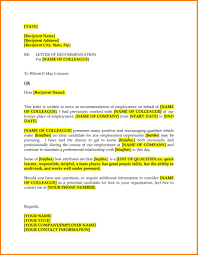 How To Write A Reference Letter For A Colleague 10 Reference Letter Examples For Coworkers Proposal Sample