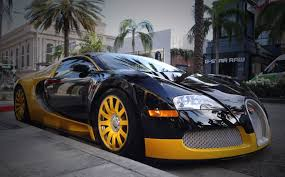 Welcome to bentley beverly hills as an official bentley motors dealership, we offer a range of manufacturer approved services aimed at maintaining the power and performance of your bentley vehicle. Custom Yellow Black Bugatti Veyron Spotted In Beverly Hills Zero To 60 Times