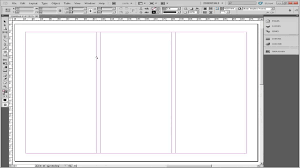 make tri fold brochure how to make a brochure in adobe indesign youtube