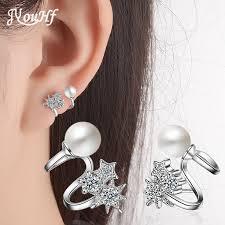 JYouHF 2017 <b>New Fashion 925 Sterling</b> Silver Earrings for Women ...