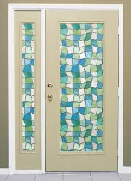 napa privacy on entry door atlantis stained glass window on entry door and sidelight atlantis door and sidelight image