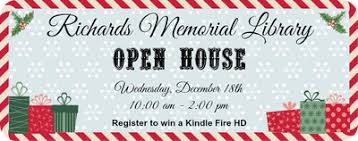 Annual Open House Door Prize Drawing At 1 30 For A New