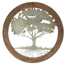 tree of life wall art wood tree of life wall art wood awesome round wood amp