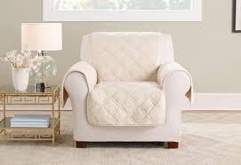 Image Waterproof Triple Protection Chair Furniture Cover Surefit Slipcovers Furniture Covers Surefit