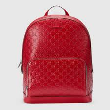 gucci. gucci signature leather backpack