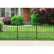 wonderful fence garden gates lowes stunning steel fence panels no dig for metal fence panels lowes