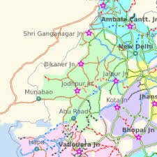 Indian Railway Route Chart Indian Railways Map Railway Enquiry