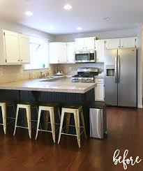 diy kitchen island legs fresh prescott view home reno diy kitchen renovation part 3 classy clutter