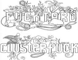 276 Best Swear Word Coloring Pages Images On Pinterest L