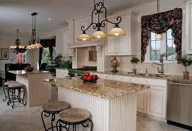 kitchen island track lighting. Kitchen Island Track Lighting Classic Chandelier Mini Bar Stools Cream Mosaic Countertop Wooden E
