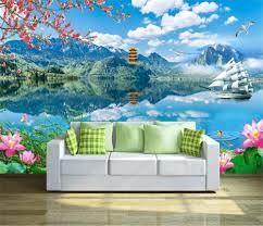 3d Wallpaper Fresh and Smooth Landscape ...