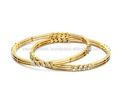 Diamond Bangles Designs Images 18k Maria Bis Hallmark Gold Diamond Bangles Buy 18k Designer Diamond Bollywood Bangles 18k Solid Gold Bangles Design Diamond Bangle Product On