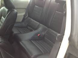 replaced cloth seats with oem leather
