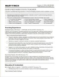 Sample Resume Substitute Tea Resume Profile Examples Substitute