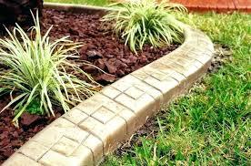 concrete forms for landscape edging image of building curb diy curbing tool edgi concrete curbing mold garden edging snap molds landscape diy
