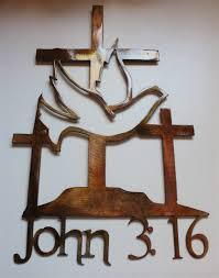 3crossdove 2 with 2017 religious metal wall art view 3 of 20  on religious wall art crosses with 2018 latest religious metal wall art