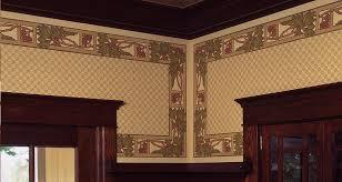 craftsman style wallpaper arts