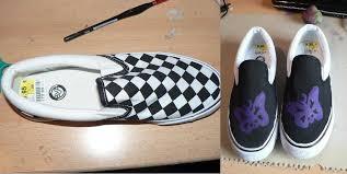 Fake Vans Fake Vans Make Over A Pair Of Painted Shoes Decorating