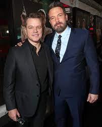 Matt Damon and Ben Affleck Team for New ...