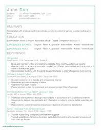 Korean Resume Template 2018