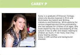 Babysitter Bio Example Bio For Babysitting Under Fontanacountryinn Com
