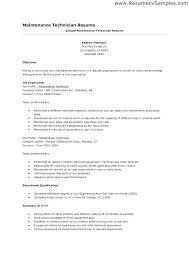 Aircraft Mechanic Resume Examples Hydraulic Mechanic Sample Resume Podarki Co