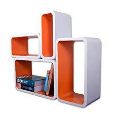 Floating Cube Shelves Uk Retro Floating Shelves Bookcase Cube Shelving NEW Rectangular 17