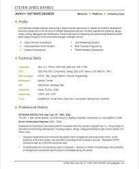 Software Engineer Resume Templates Old Version Old Version Old Fascinating Software Developer Resume Format