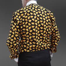 Patterned Dress Shirts Extraordinary Fish Fun Back Patterned Dress Shirt 48 Only Barker Collars