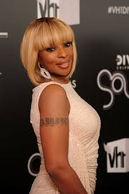 more pics of mary j blige inverted bob 3 of 12 short hairstyles lookbook stylebistro