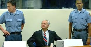 Image result for slobodan milosevic u hagu fotos
