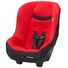 cosco scenera next convertible baby infant toddler car seat front rear face red