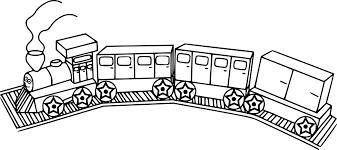 Coloriage Train Et Wagon Imprimer Sur Coloriages Info