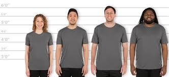 Customink Com Size Chart Customink Com Sizing Line Up For Gildan Soft Jersey
