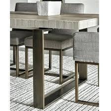 modern oak dining table modern oak wood bronze metal leg extending dining table modern round oak