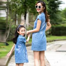 Mother Daughter <b>Dresses 2019</b> Fashion <b>Summer</b> Mom And ...