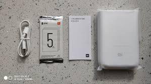 <b>Original Xiaomi</b> Mijia AR <b>Pocket Photo Printer</b> 300dpi Bluetooth 5.0 ...
