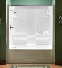 Small Tile Ideas Paint Bath Refinishing Decorating Shower Acrylic Shower Tub Combo