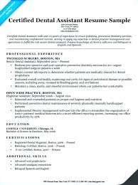 Orthodontic Assistant Resume Sample Resume Sample For Dental Assistant Blaisewashere Com