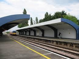 Malden Manor railway station