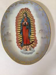 Our Lady of Guadalupe VISIONS OF OUR LADY FOURTH ISSUE WALL PLATE    #1886692451