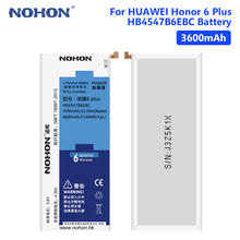 <b>NOHON</b> HB4547B6EBC 3.8V 3600mAh <b>Mobile Phone</b> Li-ion <b>Battery</b> ...
