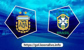 مشاهدة مباراة البرازيل ضد الارجنتين 11-07-2021 بث مباشر في كوبا امريكا