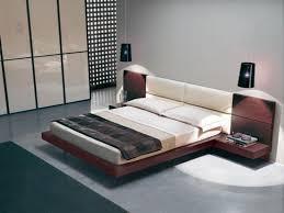 bedroom  rustic bedroom decoration with wooden solid platform bed