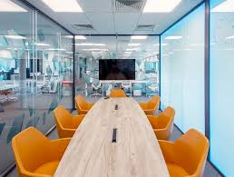 orange office furniture. Conference Room With Orange Chairs Office Furniture C