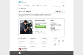 Ge Appliances Service Ge Appliances Responsive Service Support Pages On Behance