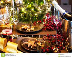 Christmas Table Setting Christmas Table Setting Royalty Free Stock Photo Image 35049745